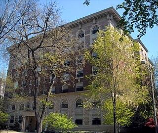 apartment building in Washington D.C.