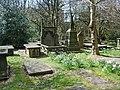 The Parish Church of St Peter, Burnley, Graveyard - geograph.org.uk - 763768.jpg