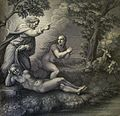 The Phillip Medhurst Picture Torah 9. Creation of Eve. Genesis cap 2 vv 21-22. Raphael.jpg