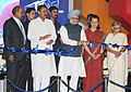 The Prime Minister, Dr Manmohan Singh inaugurating the integrated T-3 Terminal of the Indira Gandhi International Airport, in New Delhi on July 03, 2010.jpg