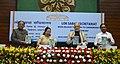 The Prime Minister, Shri Narendra Modi releasing the book 'Making of Constitution', at Parliament House Annexe, in New Delhi.jpg