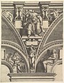 The Prophet Ezekiel; from the series of Prophets and Sibyls in the Sistine Chapel MET DP821561.jpg