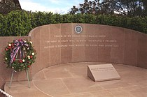 The Reagan Library memorial site where President Reagan was buried.jpg