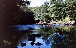 The River Roe flowing through The Roe Valley Country Park, Limavady. - geograph.org.uk - 542099.jpg