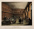 The Royal Institution, Albemarle Street; the library. Colour Wellcome V0013851.jpg