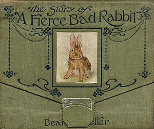 The Story of a Fierce Bad Rabbit - First edition cover
