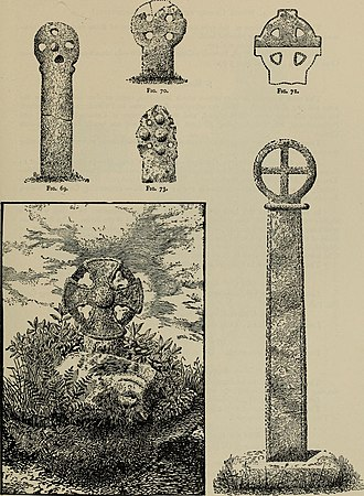 Pencarrow - Some crosses in the Victoria History of the County of Cornwall; the one at bottom left is the Pencarrow cross head
