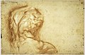 The Virgin Adored by Saints (recto); Study of the Torso Belvedere (verso) MET DR496.jpg