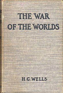 <i>The War of the Worlds</i> novel by H. G. Wells