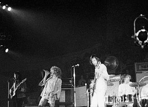The Who Tour 1971 - Image: The Who at Charlotte, NC (1971)