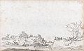 The breach in the dyke at Houtewael (march 1651) by Jan Josefsz van Goyen.jpg