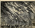 The doomed city! Chicago during an appalling ordeal! - the fire demon's carnival - the conflagrations in the West, South and North divisions - graphic sketches from the scene of the disaster (1871) (14776624954).jpg