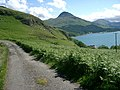 The main Knoydart road approaching Inverie - geograph.org.uk - 185950.jpg
