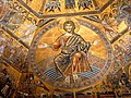 The mosaic ceiling of the Baptistery of Florence.jpg