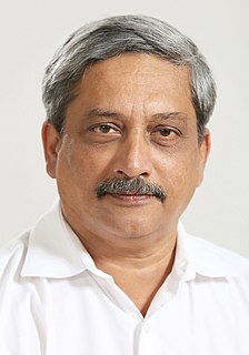 Manohar Parrikar Indian politician