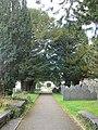 The path to the church in Llanbadarn Fawr - geograph.org.uk - 2104254.jpg