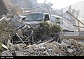 The ruins of the American missile attack on Syria 07.jpg