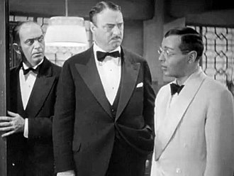 Sig Ruman - L-R: George Cooper, Sig Ruman, and Peter Lorre in Think Fast, Mr. Moto (1937)