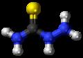 Thiosemicarbazide molecule ball.png