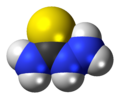 Thiosemicarbazide molecule spacefill.png