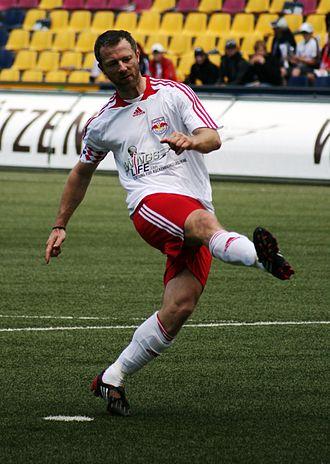 Thomas Linke - Linke playing for RB Salzburg (2009 charity)