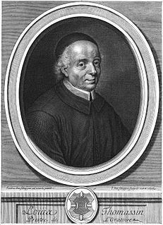 Louis Thomassin French bishop and theologian