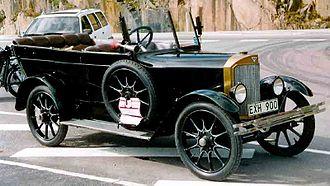 Thulin A (automobile) - Thulin A25 Phaeton 1925
