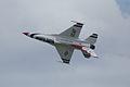 Thunderbirds Lockheed-Martin F-16C Fighting Falcon Number 5 Solo Roll 05 SNF 16April2010 (14443758160).jpg