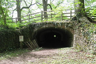 Ticknall Tramway tunnel, on the outskirts of Ticknall TicknallTramwayTunnel01.jpg