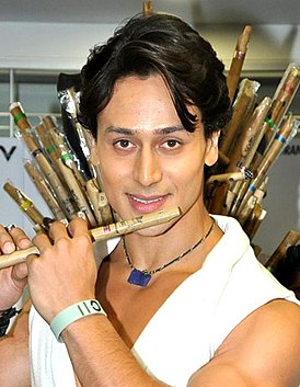 Tiger Shroff at the launch of 'Whistle Baja' song from 'Heropanti'.jpg
