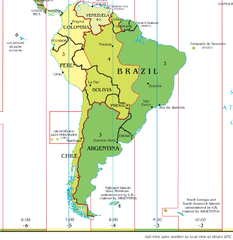 FileTime Zone Map Of South America Png Wikimedia Commons - Map showing time zones in usa