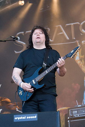 Timo Tolkki - Tolkki performing with Stratovarius in 2007