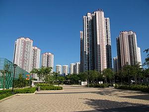 Public housing estates in Tin Shui Wai - Tin Ching Estate Phase 1