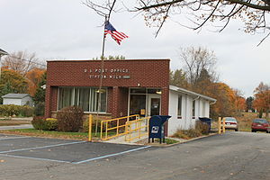 Franklin Township, Lenawee County, Michigan - Tipton Post Office