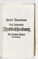 """Titelblad till """"Västindindisk reseberättelse"""" från 1663 på tyska - Skoklosters slott - 93277.tif"""