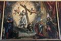 Tiziano, antonio grimani inginocchiato davanti alla fede alla presenza di s. marco, 1554-1576, competato da marco vecellio).JPG