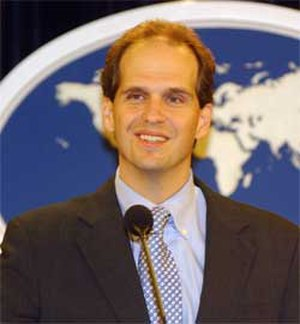 Tom Casey (diplomat) - Image: Tom Casey (ca. 2006)