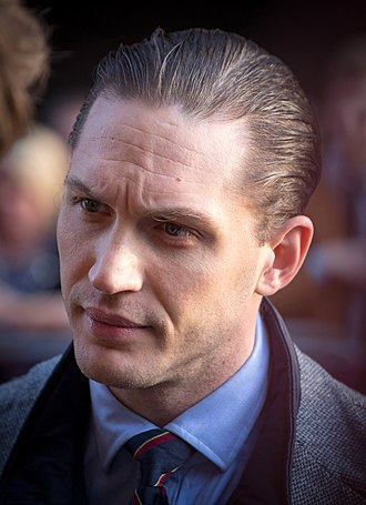 Tom Hardy - Hardy at the premiere of Locke in 2014