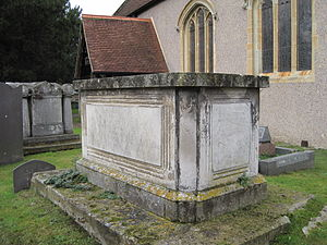 Graham Moore (admiral) - Tomb of Sir Graham Moore at St. Andrew's Church, Cobham, Surrey