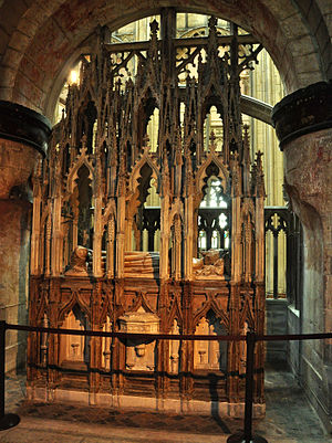 Gloucester Abbey - Tomb of King Edward II