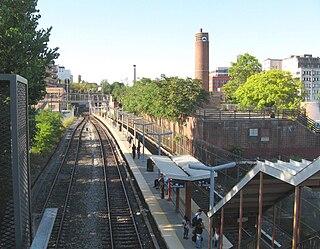 Tompkinsville station Staten Island Railway station