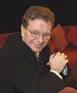 Tony Wilson - Hosting TV discussion After Dark in 2003