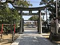 Torii of Sannomiya Shrine from inner side.jpg