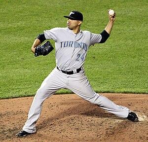 Ricky Romero - Image: Toronto Blue Jays starting pitcher Ricky Romero (24)