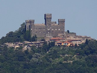 Acquapendente - Torre Alfina, about 8 kilometers east of Acquapendente
