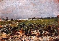 Toulouse-Lautrec - CELEYRAN, VUE DES VIGNES, 1880, MTL.15.jpg