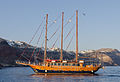 Tour boat - Santorini near Oia - Greece.jpg