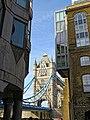 Tower Bridge from Shad Thames, Bermondsey, London.jpg