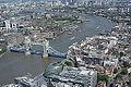 Tower Bridge seen from The View from The Shard, Shard London Bridge, UK - 20130630.JPG