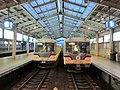 Toyama Chiho Railway 14771 & 14773 at Dentetsu-Toyama Station.jpg